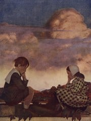 The Little Peach by Maxfield Parrish