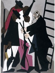 John Brown Formed An Organization Among The Colored People Of The Adirondack Woods To Resist The Capture Of Any Fugitive Slave by Jacob Lawrence