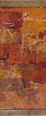 Untitled (Red Painting) by Robert Rauschenberg