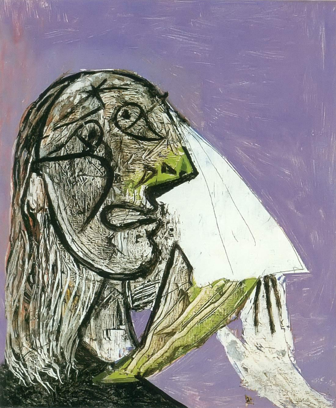 Weeping Woman 1937 Pablo Picasso