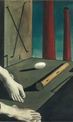 Metaphysical Still Life by Giorgio De Chirico