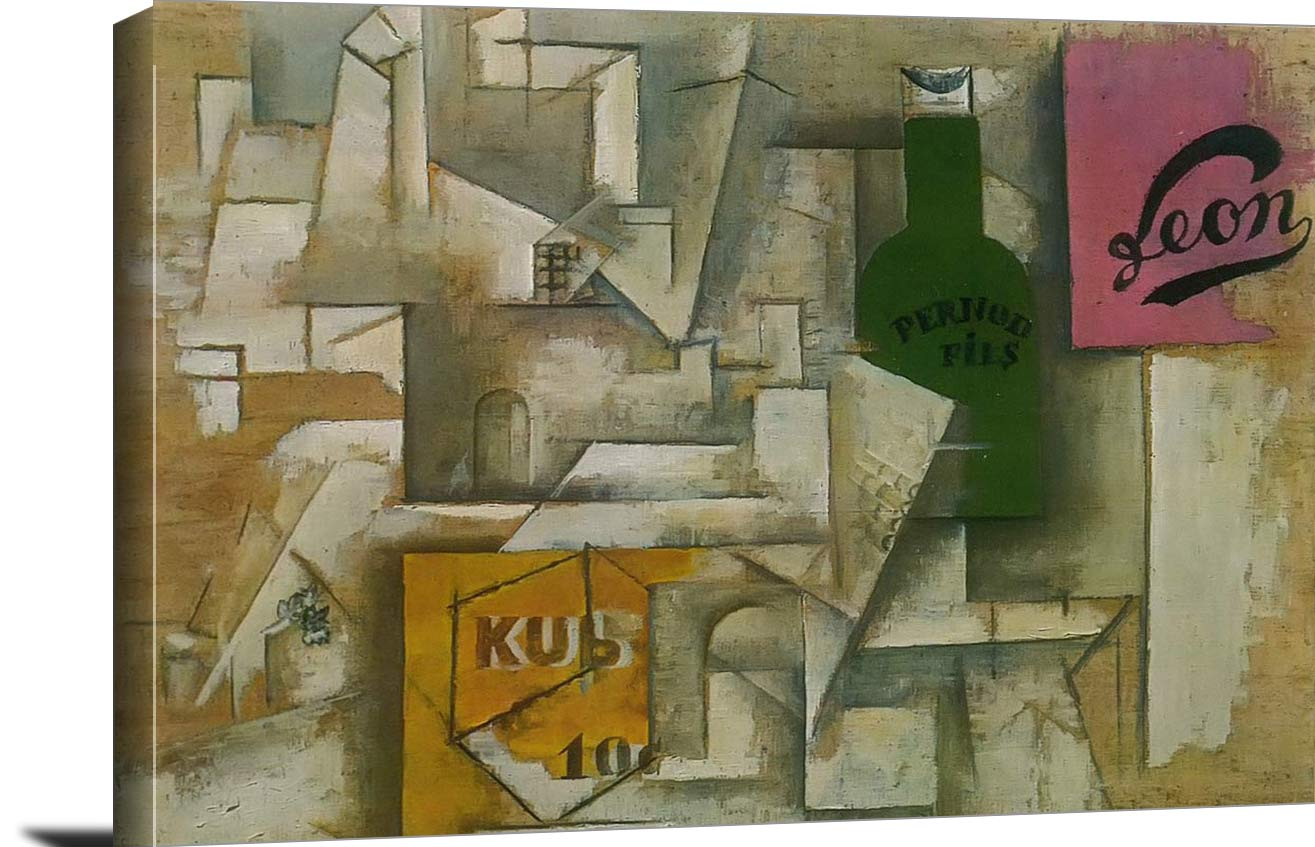 Landscape With Posters Pablo Picasso