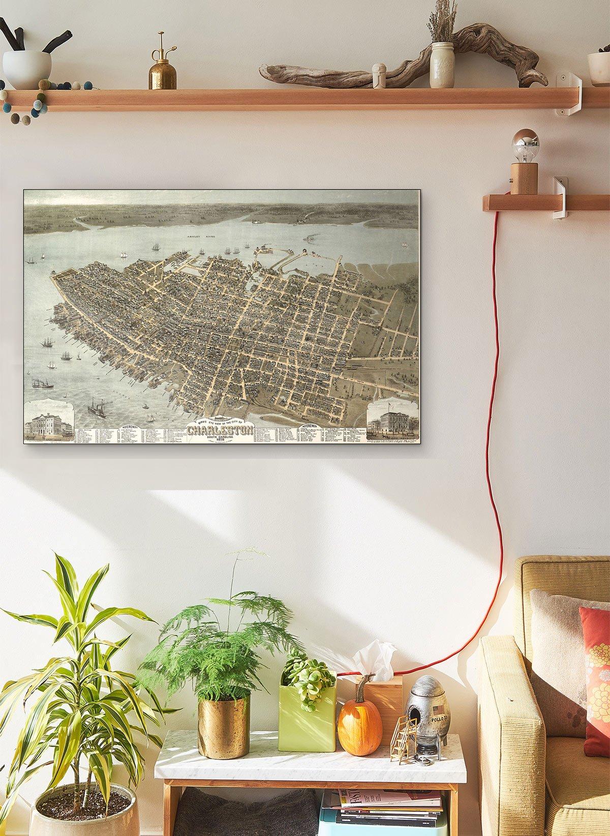 Default LARGE Vintage Map