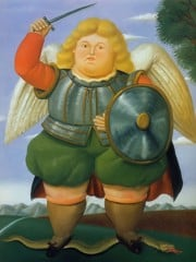 Archangel by Botero