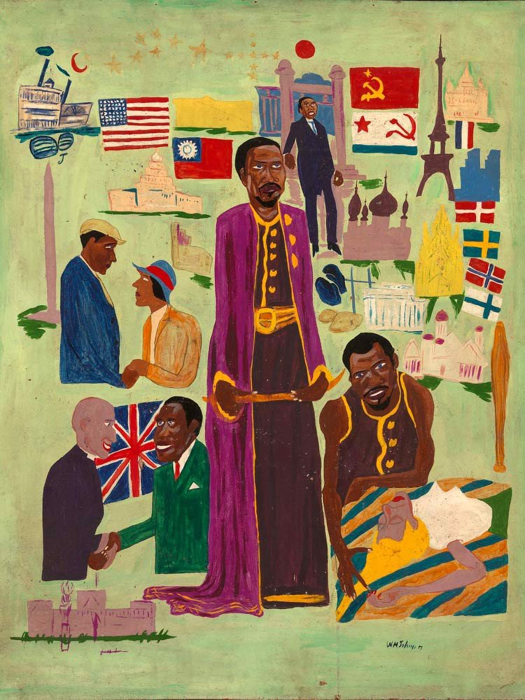 Paul Robeson's Relations William H Johnson