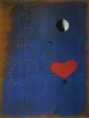 Dancer 1925 by Joan Miro