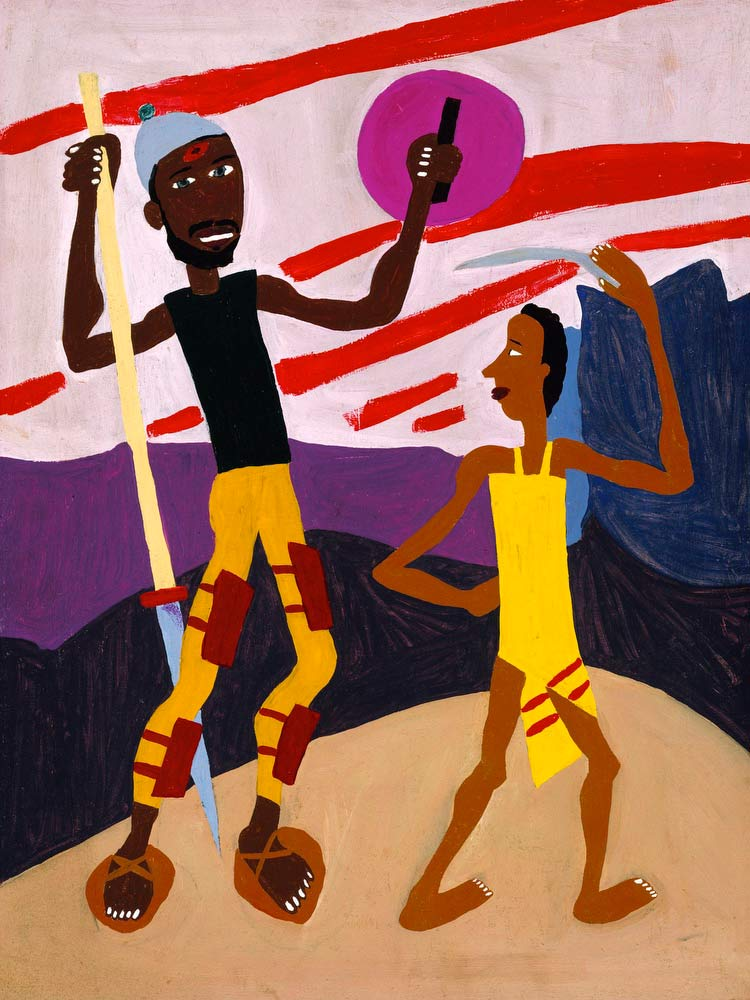 David And Goliath William H Johnson