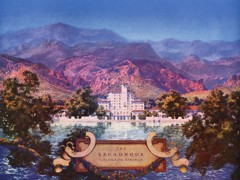 The Broadmoor Colorado Springs by Maxfield Parrish