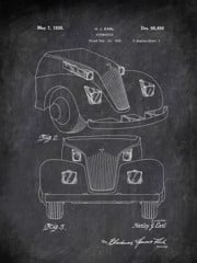 Automobile H J Earl 1935 2 Transportation by Patent