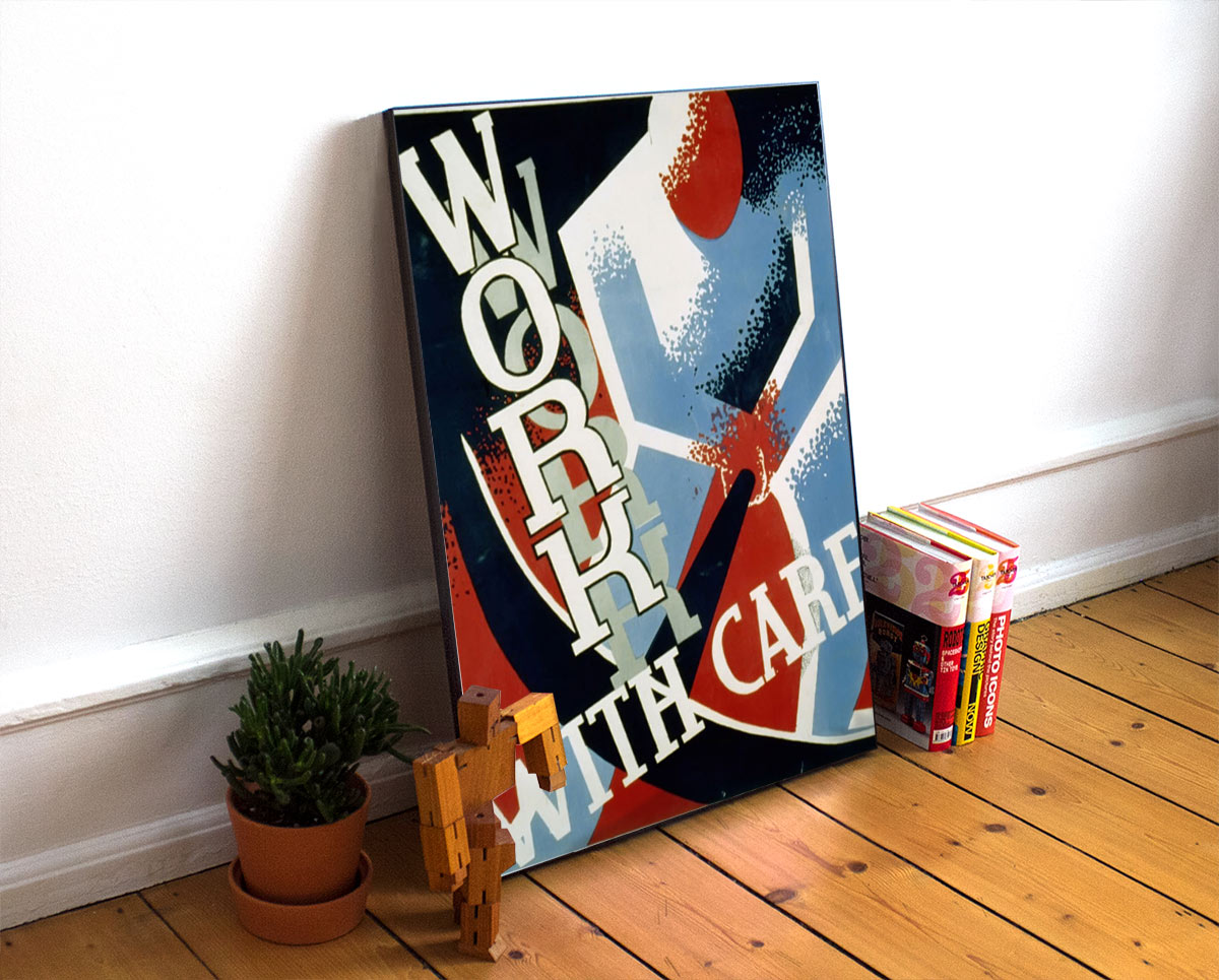 Wpapsac Vintage Advertisement Poster
