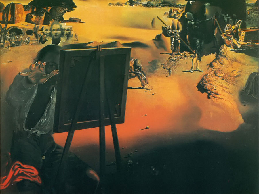 Impressions Of Africa by Dali