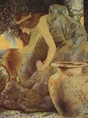 Gulnare Of The Sea Illustration by Maxfield Parrish