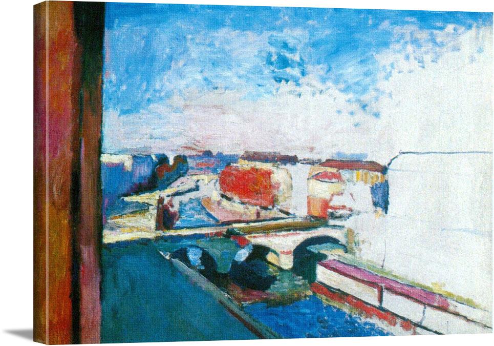 Pont Saint Michel by Henri Matisse