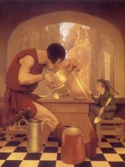 Jack The Giant Killer by Maxfield Parrish