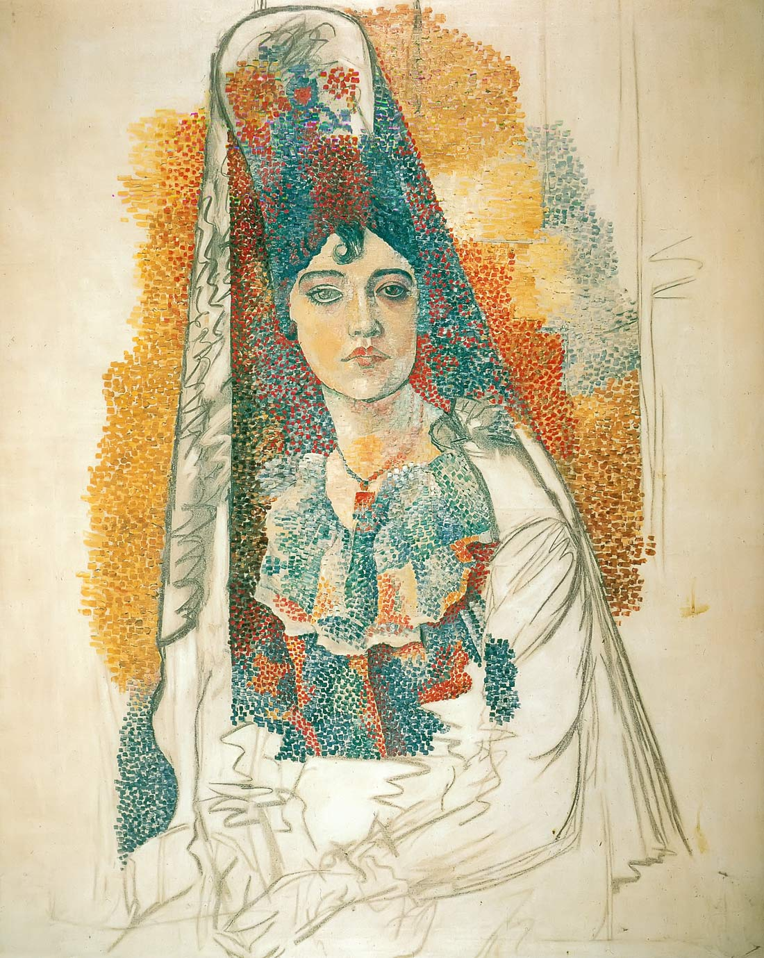 Woman In Spanish Costume Pablo Picasso