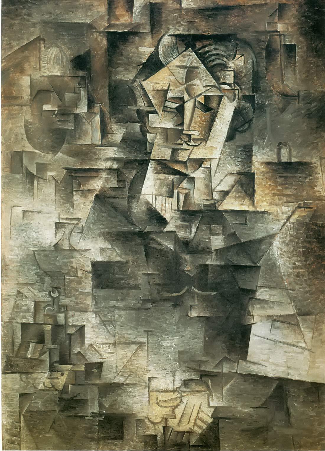 Portrait Of Daniel Henry Kahnweiler Pablo Picasso