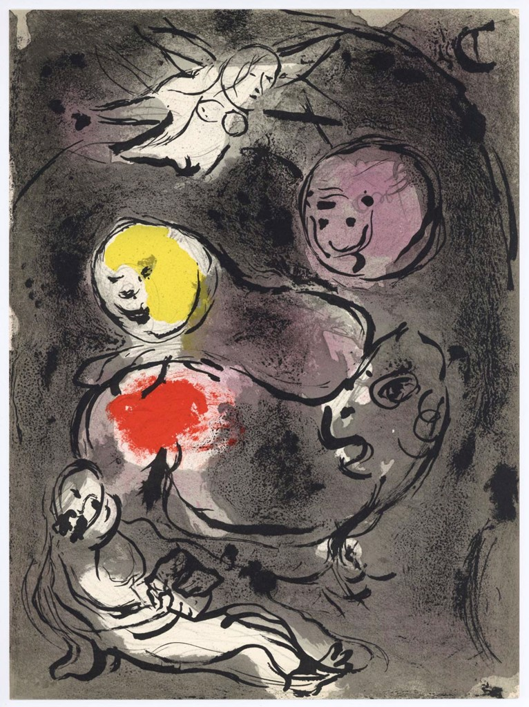 Daniel In The Lions Den Marc Chagall
