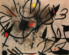 Birds At Daybreak 1970 by Joan Miro