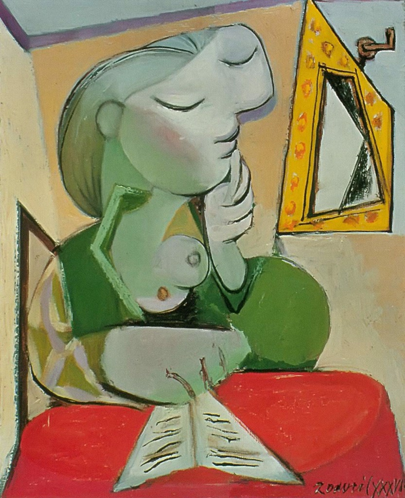 Portrait Of A Woman 1936 Pablo Picasso