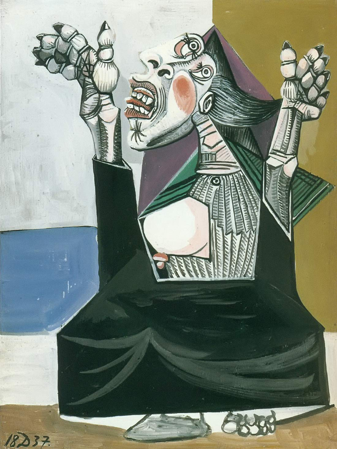 The Suppllicant 1937 Pablo Picasso