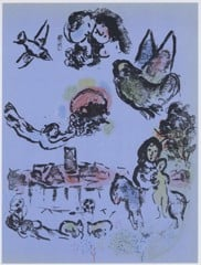 Nocturne At Vence Marc Chagall