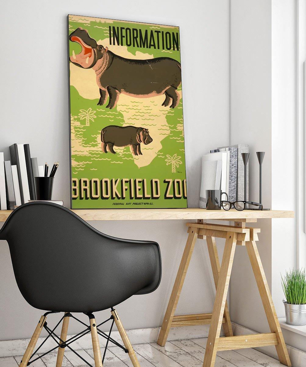 5wpaanimala Vintage Advertisement Poster