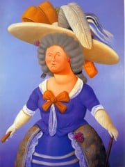 After Goya by Botero