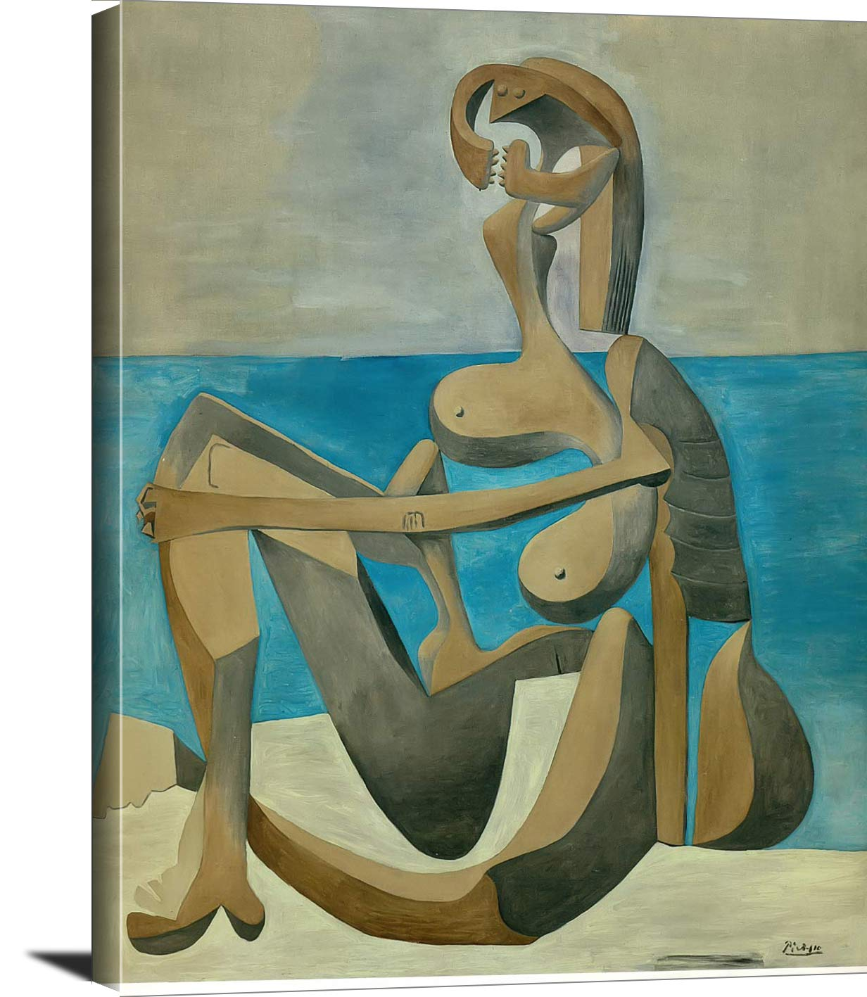 Seated Bather 1930 Pablo Picasso
