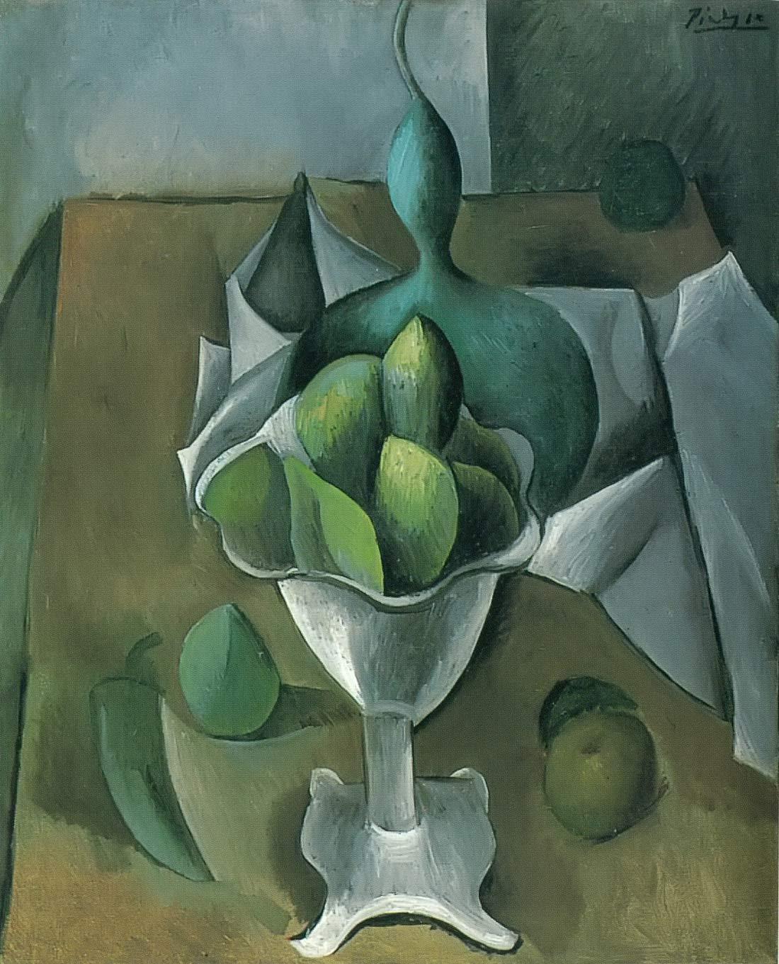 Fruit Dish Pablo Picasso