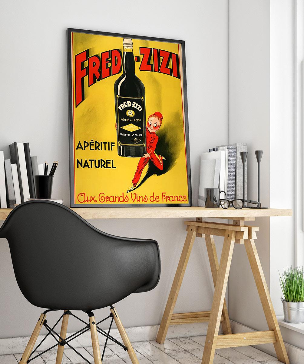 97wpa Advertising Vintage Advertisement Poster