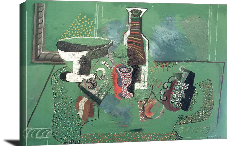 Green Still Life Pablo Picasso