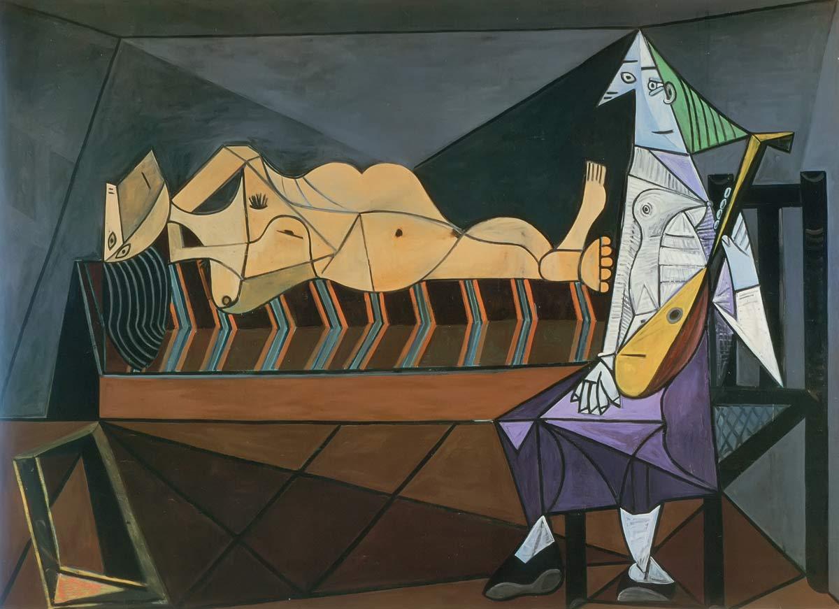The Serenade 1942 Pablo Picasso