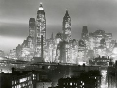 New York Night 40s by Bw Photography