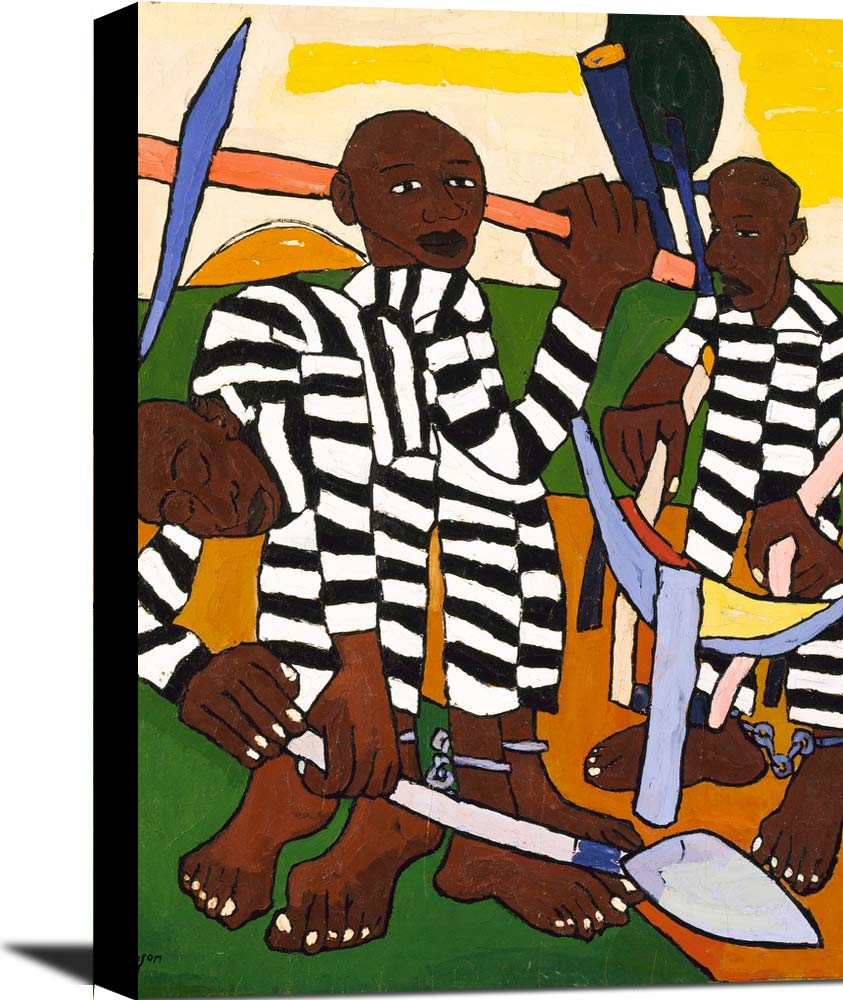 Chain Gang William H Johnson