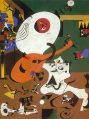 Dutch Interior I 1928 by Joan Miro