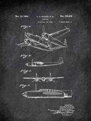 Airplane H Hughes Et Al 1944 Transportation by Patent