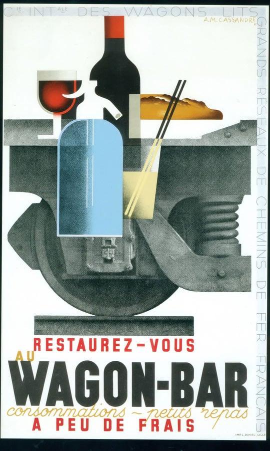 WARGON - BAR - Vintage Poster