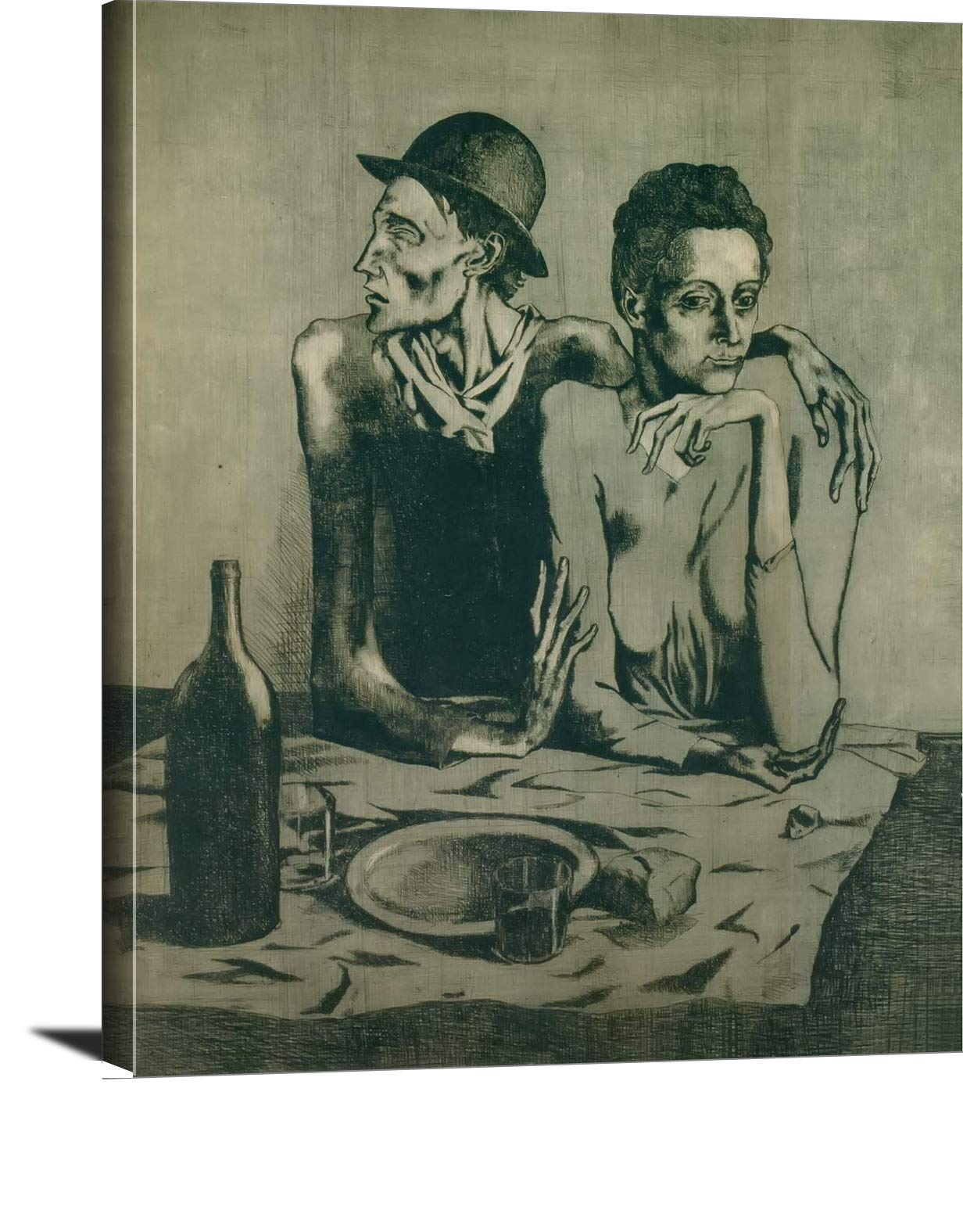 The Frugal Repast First State Pablo Picasso