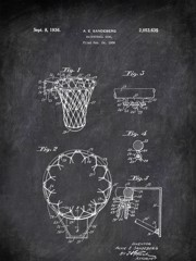 Basketball Goal A E Sandeberg 1936 Activities by Patent