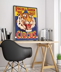 RINGLING BROS BARNUM & BAILEY - Vintage Circus Poster