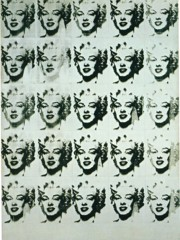 The Twenty Five Marilyns by Andy Warhol