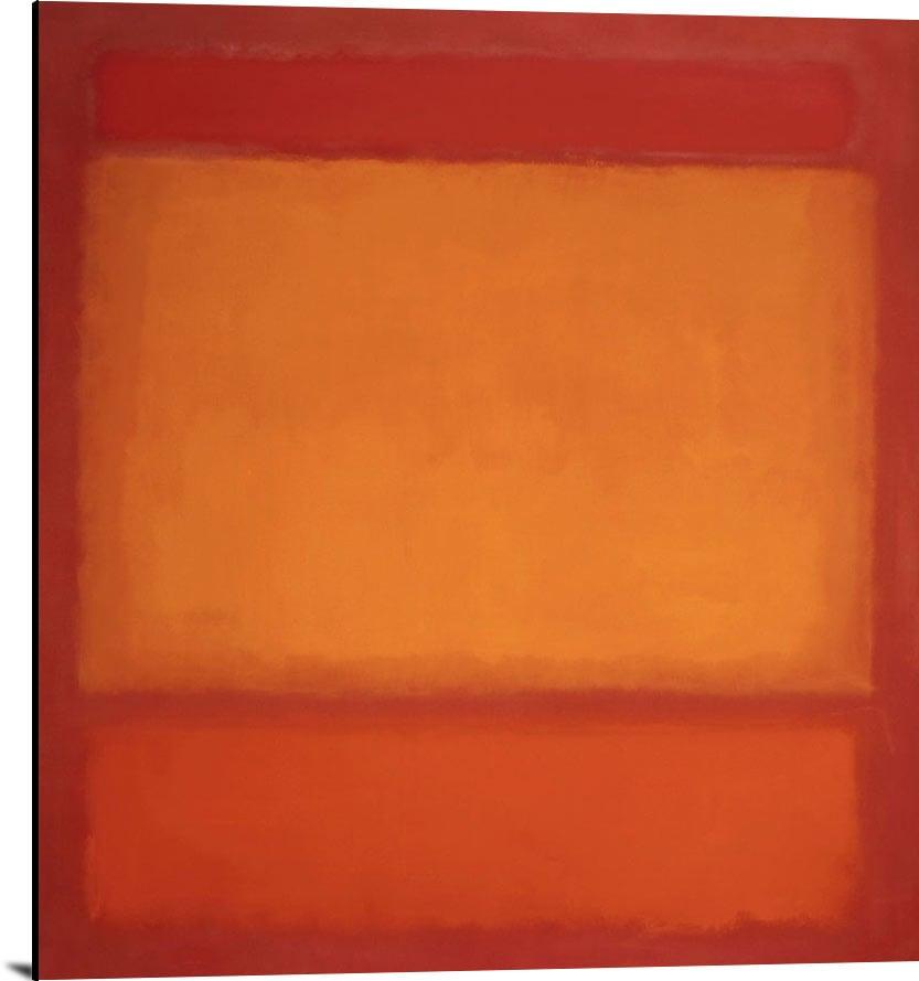 Red Orange Orange On Red by Mark Rothko