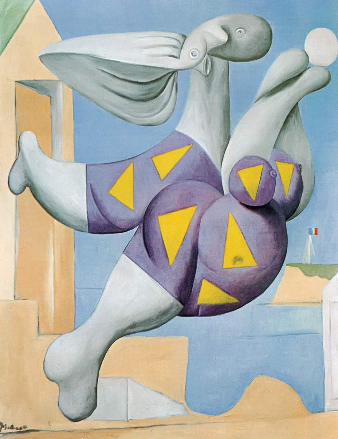 Bather With Beach Ball 1932 Pablo Picasso
