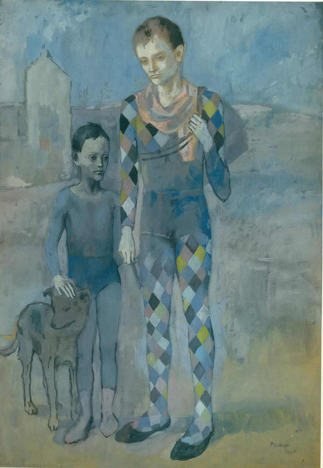 Saltimbanques With A Dog Pablo Picasso