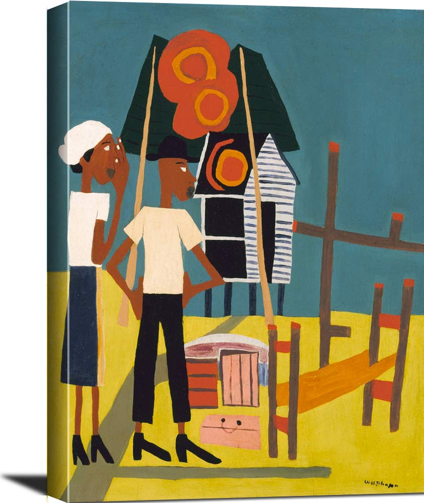 Burned Out William H Johnson
