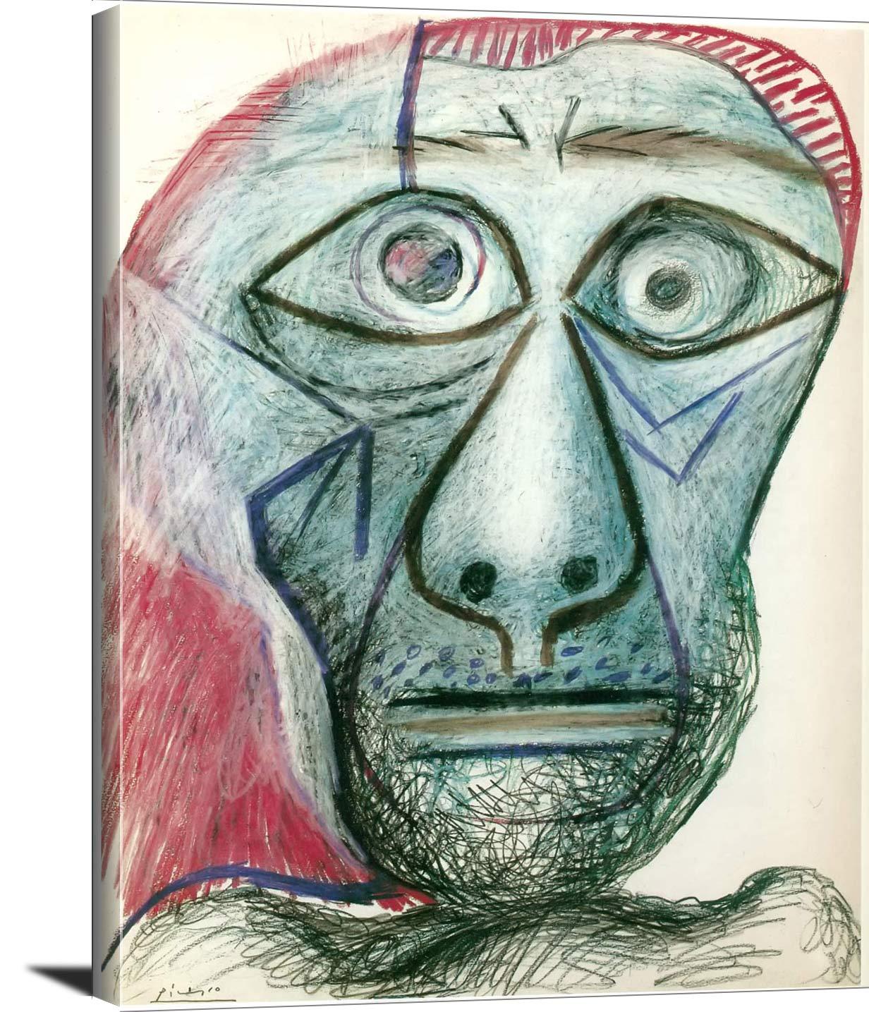 Self Portrait 1972 Pablo Picasso
