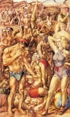 Coney Island by Reginald Marsh