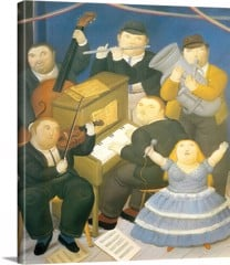 The Orchestra by Botero