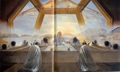 The Sacrament Of The Last Supper Fix by Dali