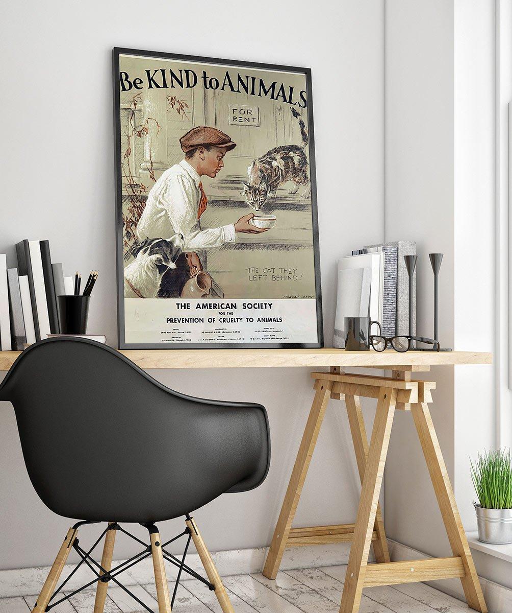 23wpaanimal Vintage Advertisement Poster